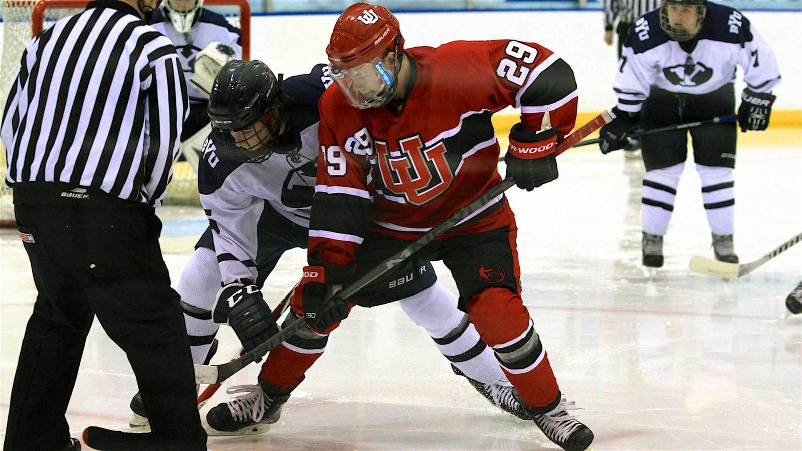 Utah set for rivalry weekend vs BYU – University of Utah Hockey 5aa60214848