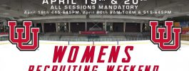 Utah Hockey announces 2019 Women's Recruiting Weekend